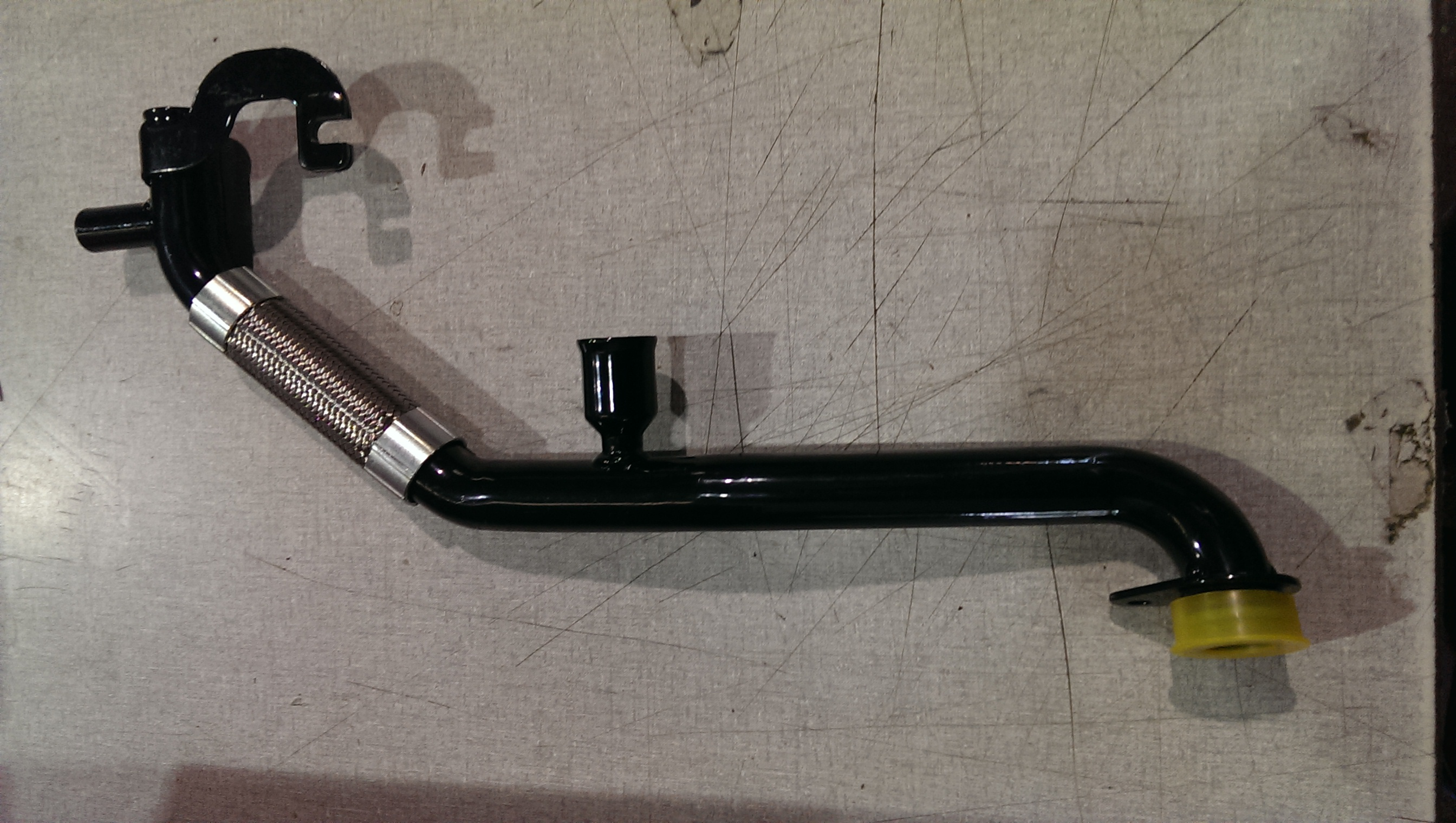 Modified coolant tube for l twins and nd gen
