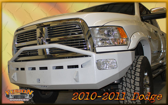 Fusion Bumper Front for Dodge Ram (2010-2011)
